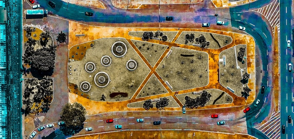 © Federico Winer @Google Earth and satellite data providers.