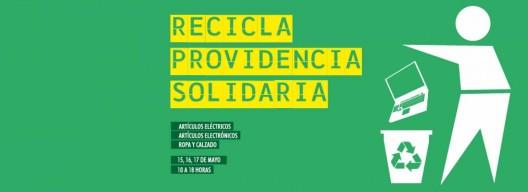 afiche campana providencia recicla 2015