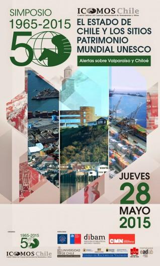 AFICHE SIMPOSIO ICOMOS 2015