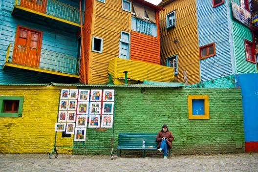 Barrio La Boca, Buenos Aires. © Hernán Piñera, vía Flickr.