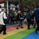 paseo peatonal diversidad sexual intervencion urbana providencia