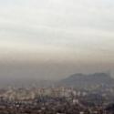 contaminacion atmosferica  santiago