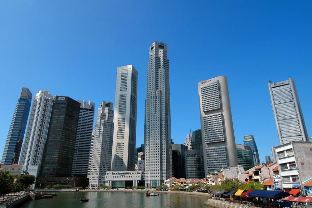 Ciudad de Singapur. ©besar bears, vía Flickr.