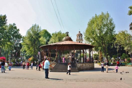 Coyoacán, Ciudad de México. © Aquarela 08, vía Flickr.