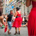 Fiesta del Roto chileno en Barrio Yungay. © Sebastian Gonzalez Zenteno, vía Flickr.