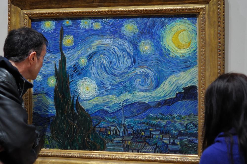 """""""La Noche Estrellada"""" en el MoMA, Nueva York. © Ralph Daily, vía Flickr."""
