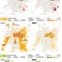 mapa social santiago