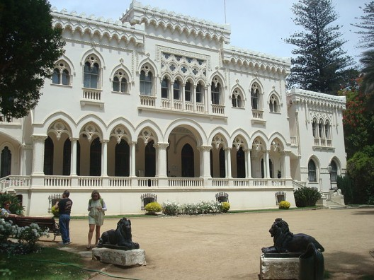 Palacio Vergara, Viña del Mar. © Carlos yo, vía Wikimedia Commons.