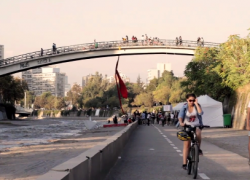 video mapocho pedaleable 2015