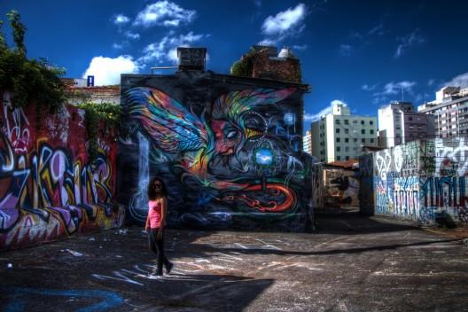 Vila Madalena, São Paulo. © Dantrips, vía Flickr.