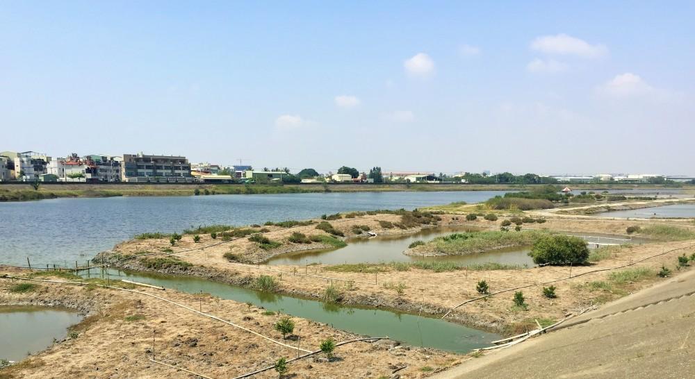 Los humedales del río Erren en la actualidad, Foto tomada por la autora durante visita, 2015.