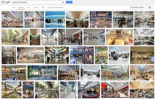 """Búsqueda en Google: """"shopping mall interior"""". Image vía Google"""