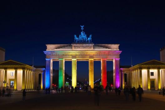 Puerta de Brandenburgo, Berlín.  © mato via Shutterstock.com
