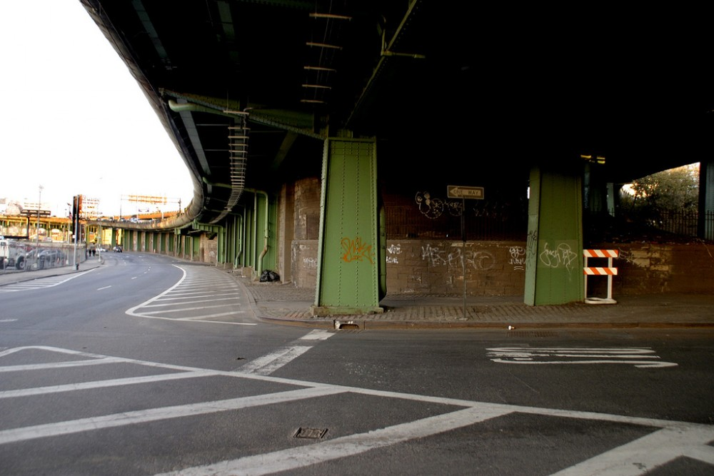 Brooklyn Queens Expressway. © Zach K, vía Flickr.