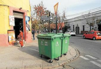 contenedores basura municipalidad santiago