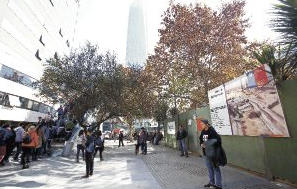 paseo peatonal luis thayer ojeda costanera center