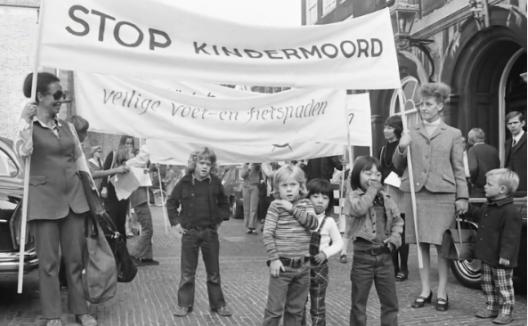Protesta ciudadana en Holanda 1971-1973
