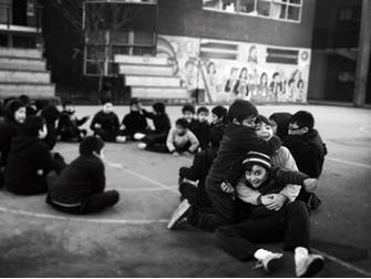 aviera Contreras, 16 años. En la población Siete Canchas, Pudahuel 2014