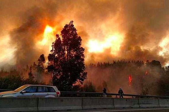 incendios forestales valparaiso alerta roja
