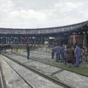 museo ferroviario temuco casa de maquinas