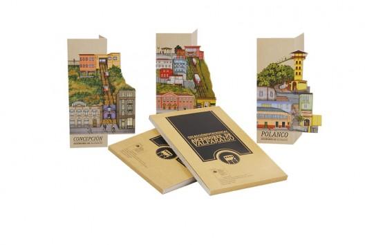 """""""Colección Patrimonial Ascensores de Valparaíso"""". Cortesía Mi Ciudad de Papel."""