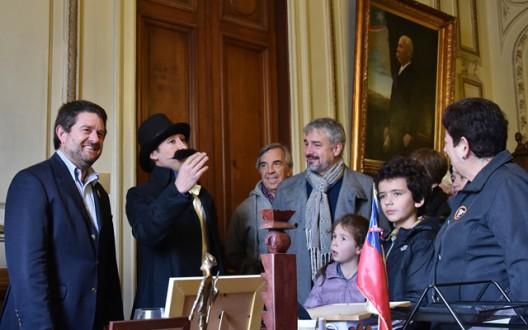 Dia del Patrimonio Cultural de Chile 2015 en la Intendencia Metropolitana.