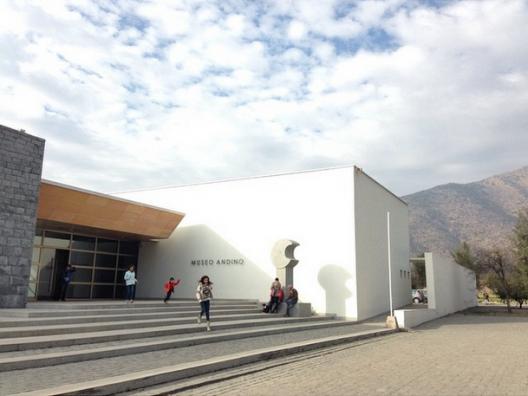Dia del Patrimonio Cultural de Chile 2015 en el Museo Andino. Foto por plataformaurbana via instagram.