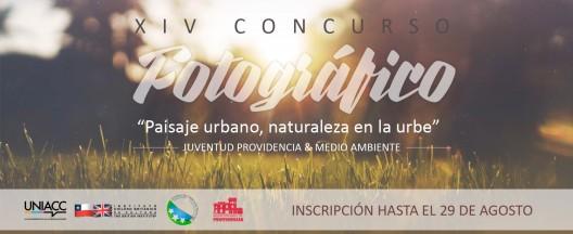flyer Paisaje Urbano, Naturaleza en la Urbe providencia