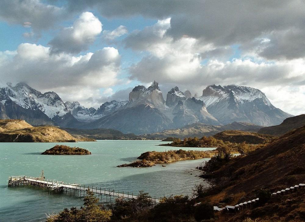 Lago Pehoé en el Parque Nacional Torres del Paine. © twiga_269, vía Flickr.