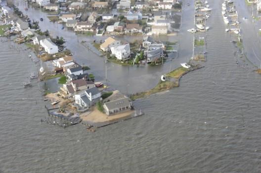 Long Island después del huracán Sandy. © DVIDSHUB, vía Flickr.
