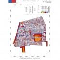 Mapa de Ruido Zona Centro del Gran Santiago. Fuente: MMA e Instituto de Acústica de la UAch.