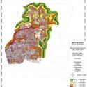 Mapa de Ruido Zona Nororiente del Gran Santiago. Fuente: MMA e Instituto de Acústica de la UAch.