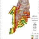 Mapa de Ruido Zona Sur del Gran Santiago. Fuente: MMA e Instituto de Acústica de la UAch.