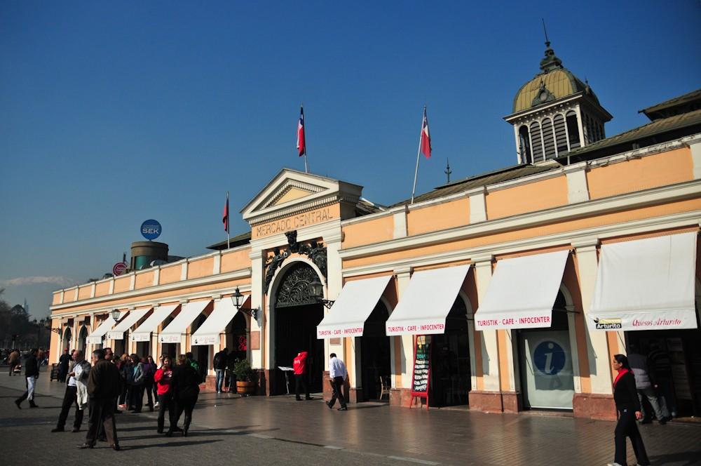 Mercado Central. © Plataforma Urbana