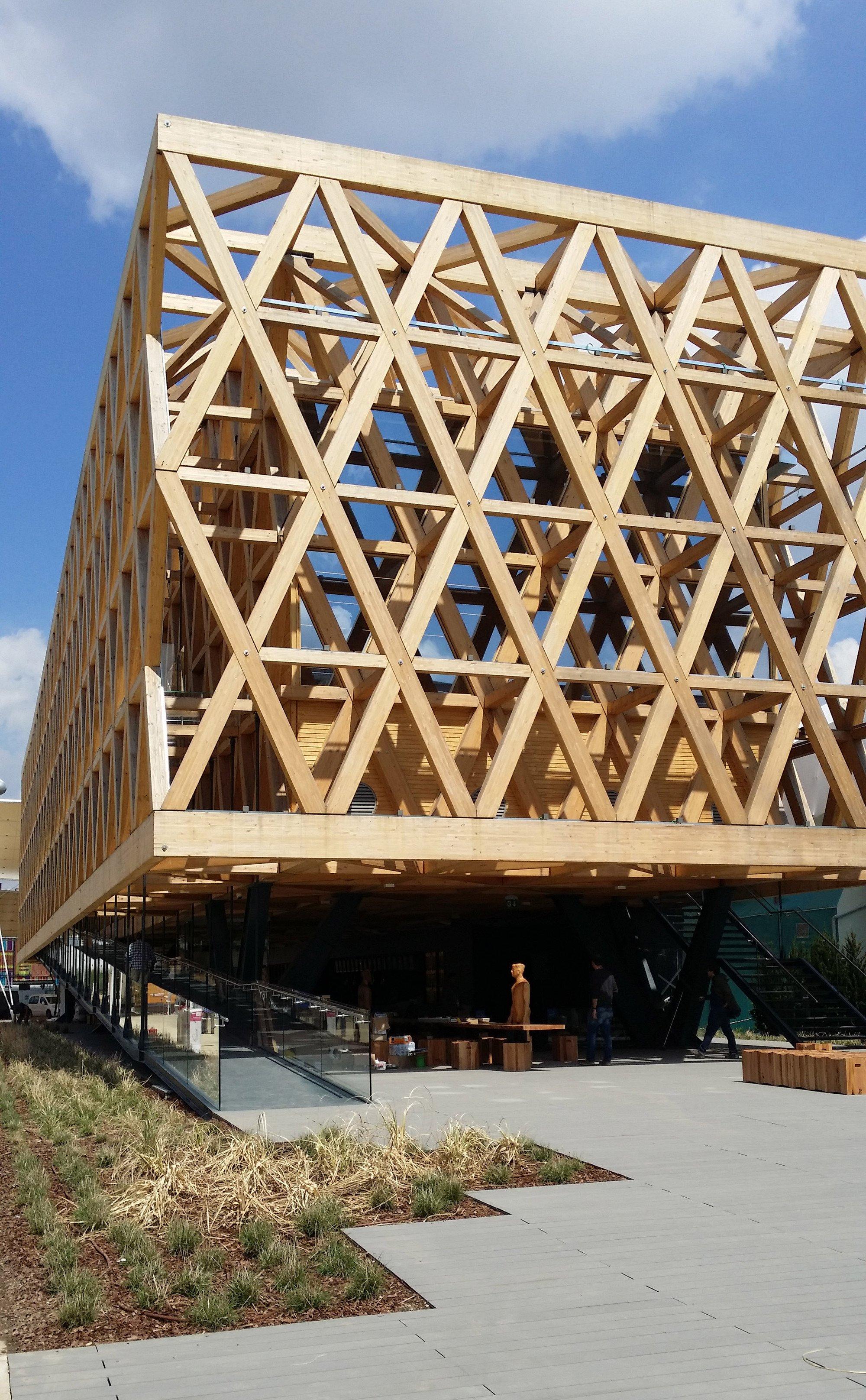 Pabellon de chile expo milan 2015 cortesia cristian for Plataforma arquitectura