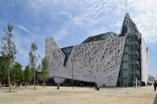 Pabellón de Italia en la Expo Milán 2015. Cortesía NEMESI, vía Plataforma Arquitectura.