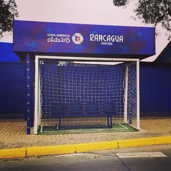 Fuente imagen: Copa América Chile 2015 (Instagram)
