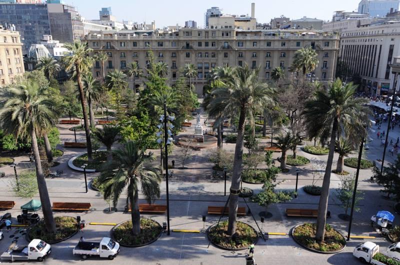 Plaza de Armas de Santiago. © Municipalidad de Santiago