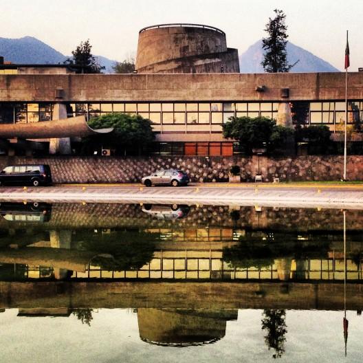 Edificio de la CEPAL. Cortesía @santiagoadicto.