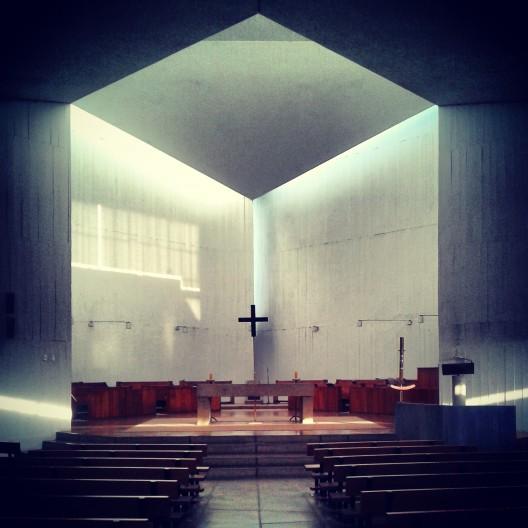 Monasterio Benedictino, Las Condes. Cortesía @santiagoadicto.