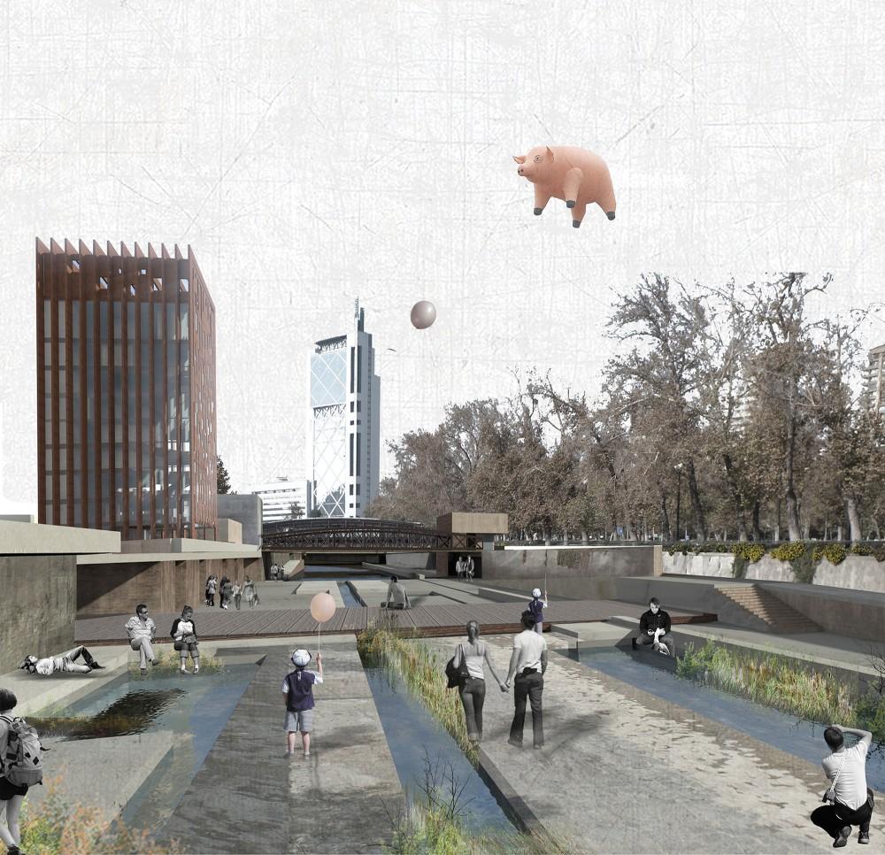 Zona El Mirador. Image Cortesia de Emmanuelle Mariès y Thomas Bonnardel