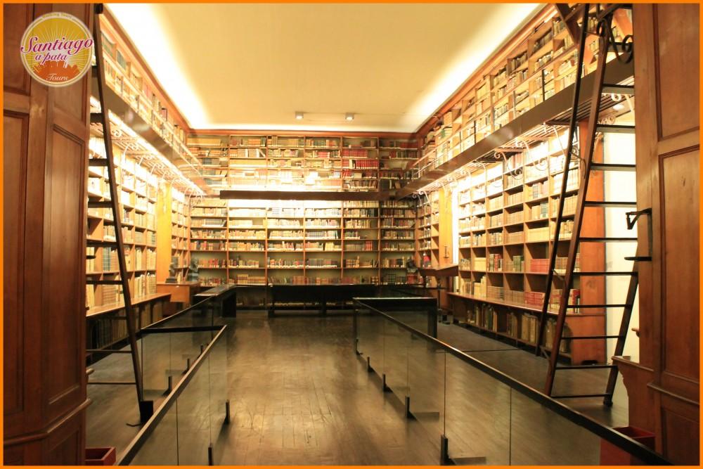 Biblioteca Patrimonial Recoleta Dominica Cortesia Santiago a Pata