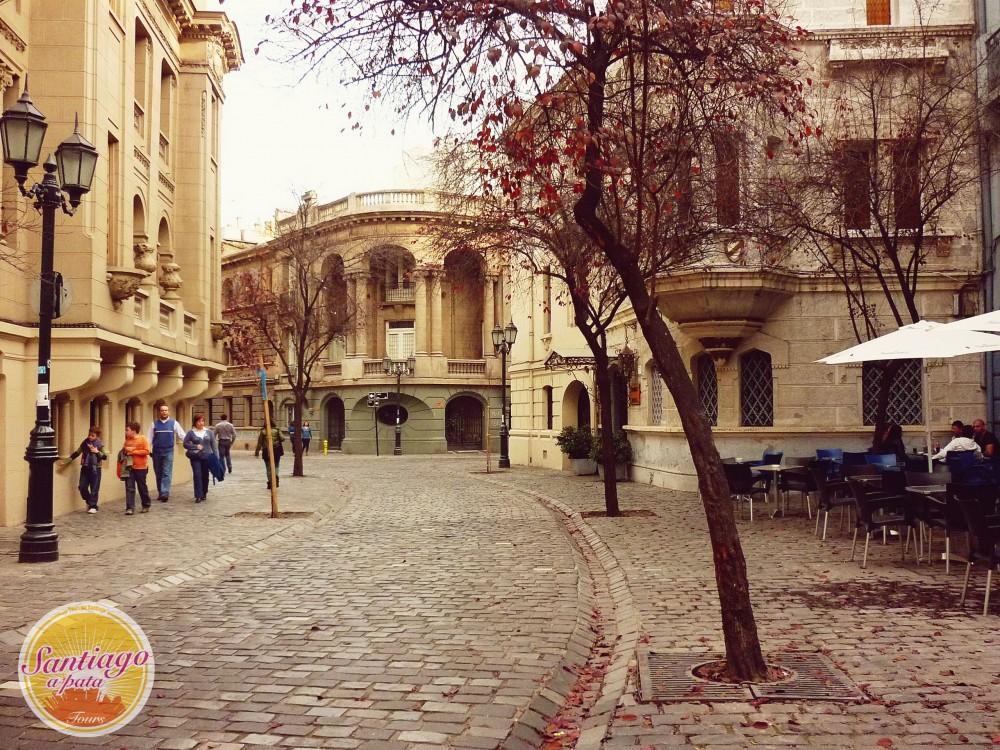 Calle Londres, Santiago. Cortesía Santiago a Pata.