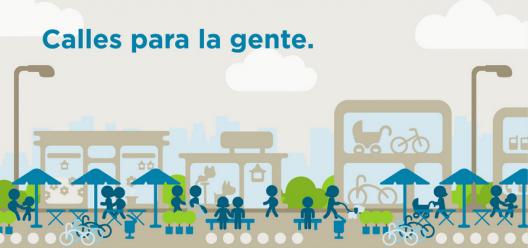 """Proyecto """"Calles para la Gente""""."""