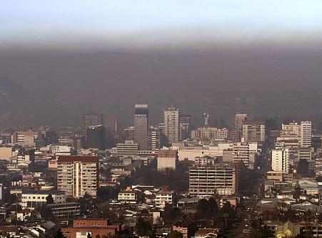 temuco smog