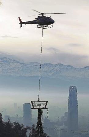 torres teleferico parque metropolitano
