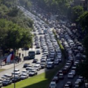 congestion vehicular santiago