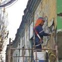 limpieza fachadas comuna santiago barrio matta