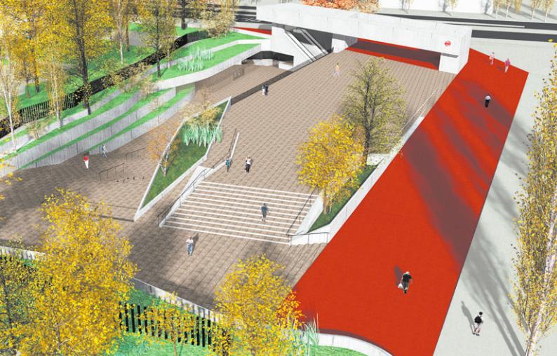 diseno futura estacion de metro estadio nacional