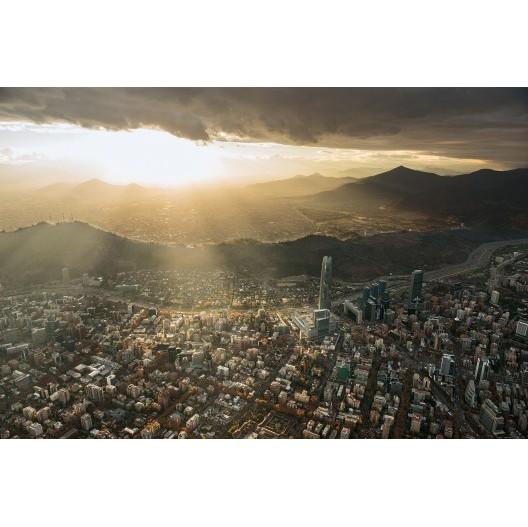 Cerro San Cristobal_Foto por Guy Wenborne_Libro Santiago desde el aire Cortesia Santiago Cerros Isla